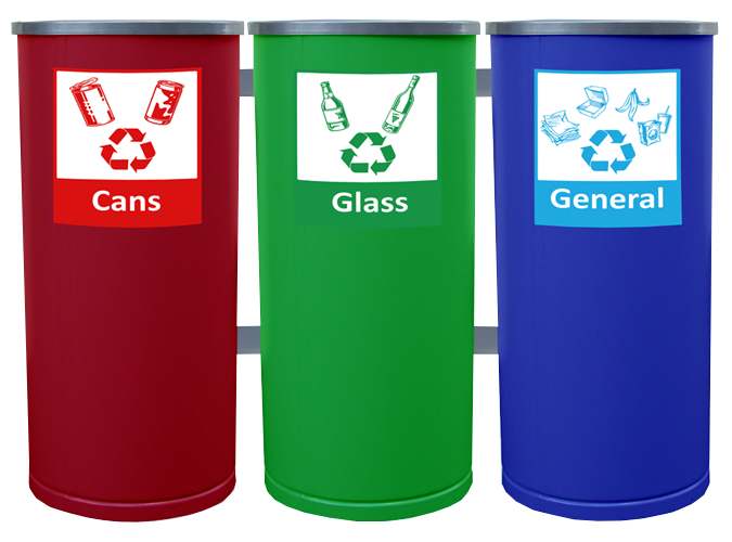 5031 Round Recycle Bin