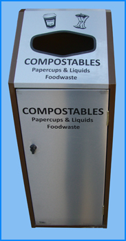 Compostable Waste Recycle Bin