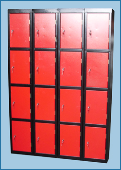 Lockers Group Red